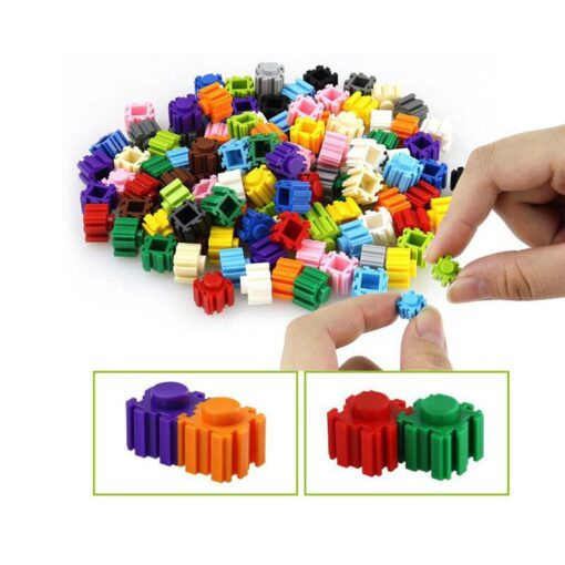 DIY Building Block 24 Colors Cartoon Children Difficult Assembly Toy Micro Diamond Small Particles Building Blocks 4
