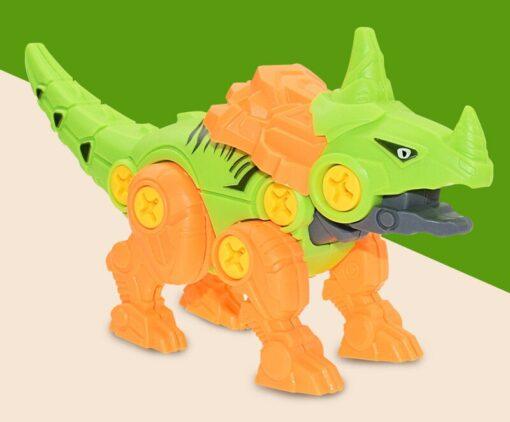 DIY Splicing Dinosaur Toys Set With Screwdriver Tools Take Apart Building Dinosaur Playset To Create A 8