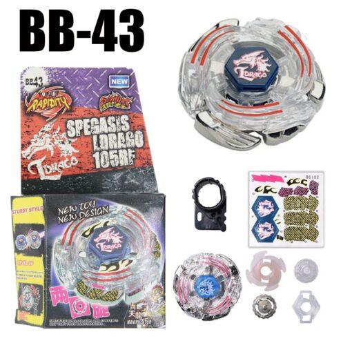Dark Bull Metal Fusion Spinning Top BB 40 STARTER SET Drop shopping 1