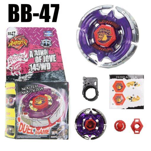 Dark Bull Metal Fusion Spinning Top BB 40 STARTER SET Drop shopping 2