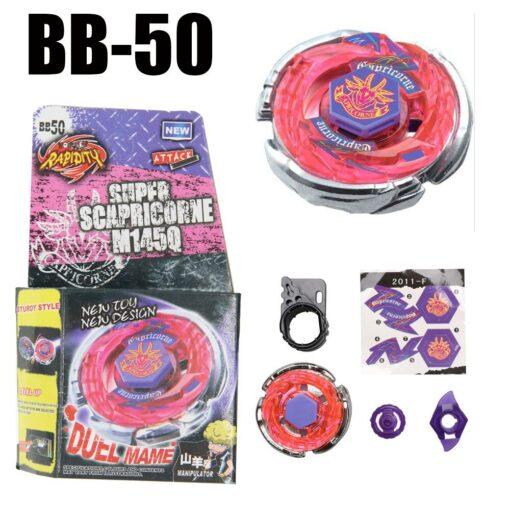 Dark Bull Metal Fusion Spinning Top BB 40 STARTER SET Drop shopping 4