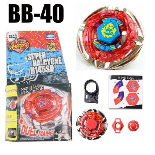 Dark Bull Metal Fusion Spinning Top BB 40 STARTER SET Drop shopping