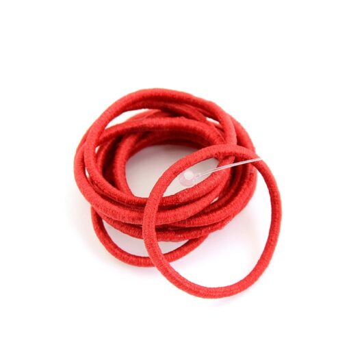Delivery Within 24 Hours 10pcs High Elastic Rubber Band Hair Tie Elastic Type Baby Girl Child 1