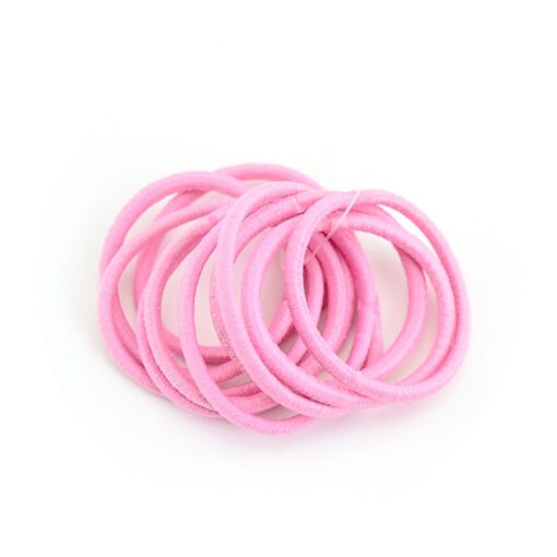 Delivery Within 24 Hours 10pcs High Elastic Rubber Band Hair Tie Elastic Type Baby Girl Child 3