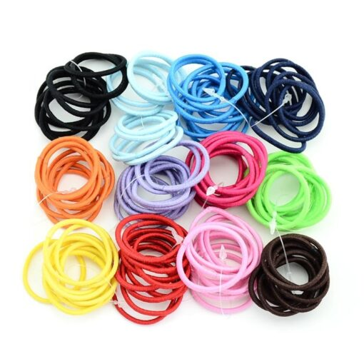 Delivery Within 24 Hours 10pcs High Elastic Rubber Band Hair Tie Elastic Type Baby Girl Child 4