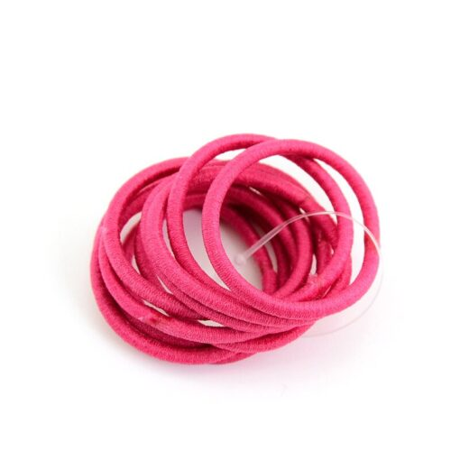 Delivery Within 24 Hours 10pcs High Elastic Rubber Band Hair Tie Elastic Type Baby Girl Child 5