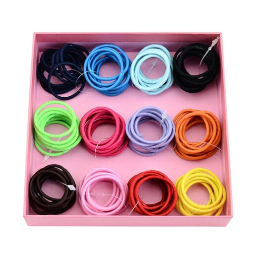 Delivery Within 24 Hours 10pcs High Elastic Rubber Band Hair Tie Elastic Type Baby Girl Child