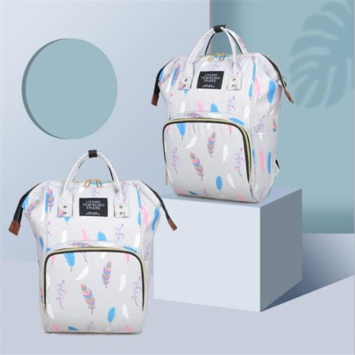 Diaper Bag Backpack Maternity Baby Changing Bags Large Capacity Waterproof and Stylish with Stroller Straps 1