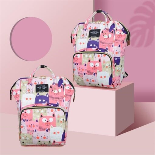 Diaper Bag Backpack Maternity Baby Changing Bags Large Capacity Waterproof and Stylish with Stroller Straps 2