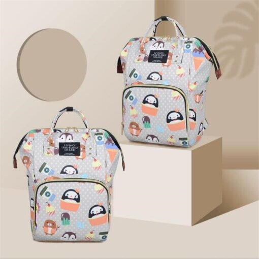 Diaper Bag Backpack Maternity Baby Changing Bags Large Capacity Waterproof and Stylish with Stroller Straps 3