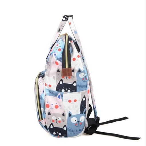 Diaper Bag Backpack Maternity Baby Changing Bags Large Capacity Waterproof and Stylish with Stroller Straps 4