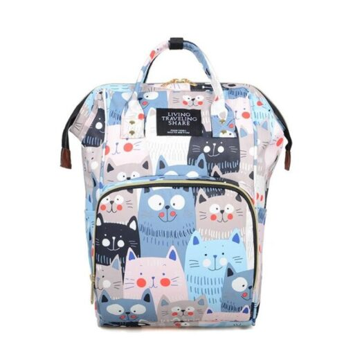 Diaper Bag Backpack Maternity Baby Changing Bags Large Capacity Waterproof and Stylish with Stroller Straps 5