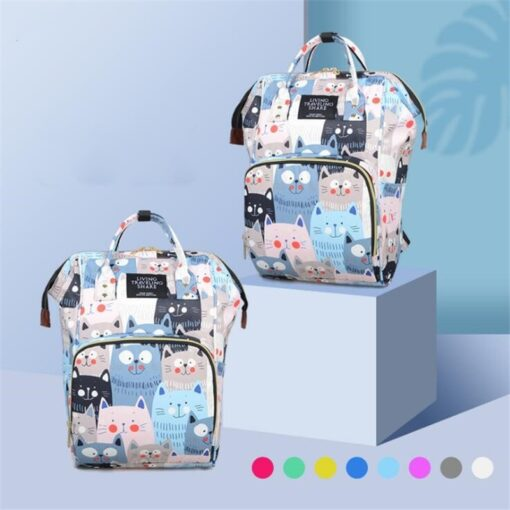 Diaper Bag Backpack Maternity Baby Changing Bags Large Capacity Waterproof and Stylish with Stroller Straps