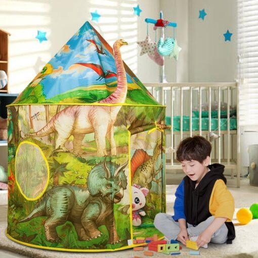 Dinosaur Foldable Children s house tent For Kids Tent Baby toys wigwam play house for children 1