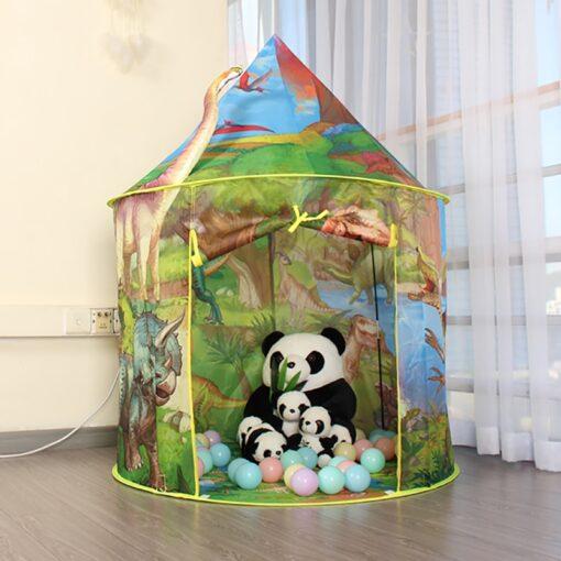 Dinosaur Foldable Children s house tent For Kids Tent Baby toys wigwam play house for children 4