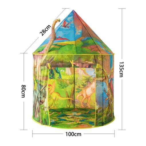 Dinosaur Foldable Children s house tent For Kids Tent Baby toys wigwam play house for children 5
