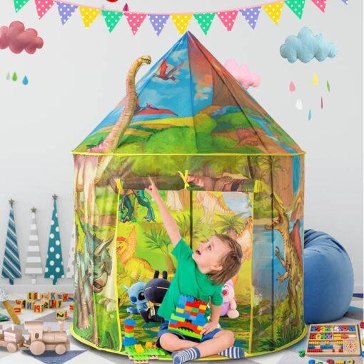 Dinosaur Foldable Children s house tent For Kids Tent Baby toys wigwam play house for children