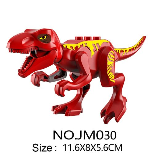Dinosaur Park DIY Blocks Dinosaurs Tyrannosaurus Tiny Models Building Block Kids Toys Creator Animals Action Figure 2