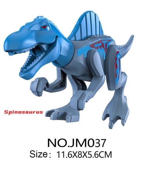 Dinosaur Park DIY Blocks Dinosaurs Tyrannosaurus Tiny Models Building Block Kids Toys Creator Animals Action Figure 3