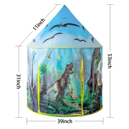 Dinosaur world baby children s play house tent for kids fun toys tents Indoor Outdoor foldable 4
