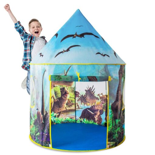 Dinosaur world baby children s play house tent for kids fun toys tents Indoor Outdoor foldable