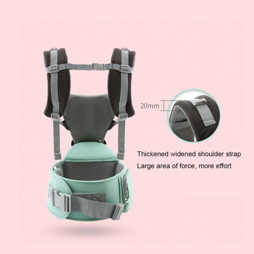 Disney 0 36 Months Bow Breathable Front Facing Baby Carrier Hipseat 20kg Infant Comfortable Sling Backpack 10