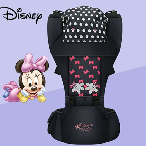 Disney Baby Carrier Baby Cushion Front Sitting Kangaroo Baby Wrap Sling for Baby Travel Multifunction Infant 1