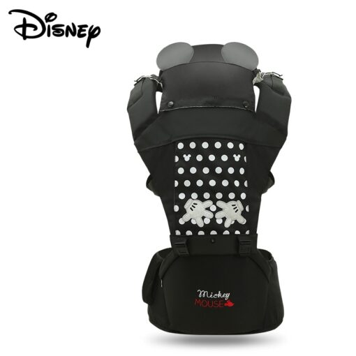 Disney Baby Carrier Baby Cushion Front Sitting Kangaroo Baby Wrap Sling for Baby Travel Multifunction Infant 5