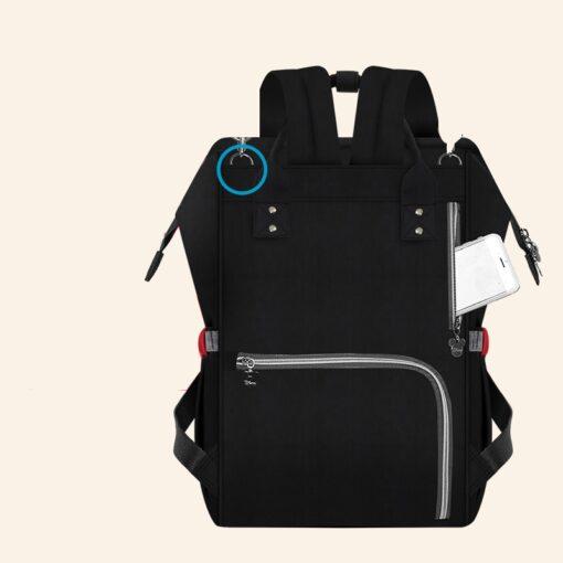 Disney Bottle Feeding Insulation Bag Oxford Cloth Diaper Storage Bag Backpack USB Waterproof Stroller Large Capacity 3