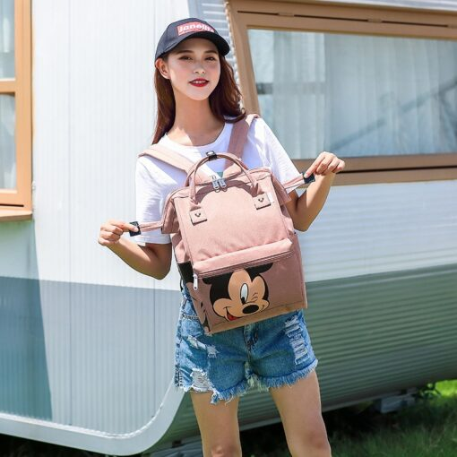 Disney Diaper Backpack Baby Bag for Mom Wet Bag Fashion Mummy Maternity Diaper Organizer Mickey Travel 1