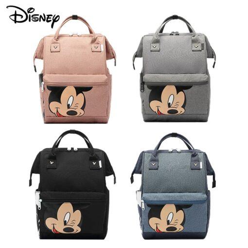 Disney Diaper Backpack Baby Bag for Mom Wet Bag Fashion Mummy Maternity Diaper Organizer Mickey Travel