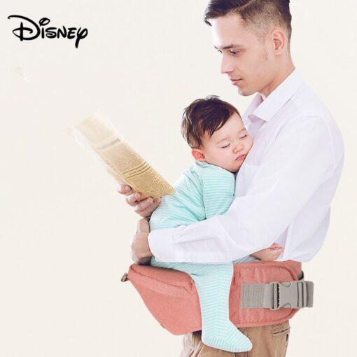 Disney Ergonomic Baby Carrier 0 48M Baby Hipseat Carrier Front Facing Ergonomic Kangaroo Baby Wrap Sling 2