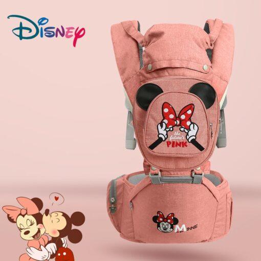 Disney Ergonomic Baby Carrier 0 48M Baby Hipseat Carrier Front Facing Ergonomic Kangaroo Baby Wrap Sling