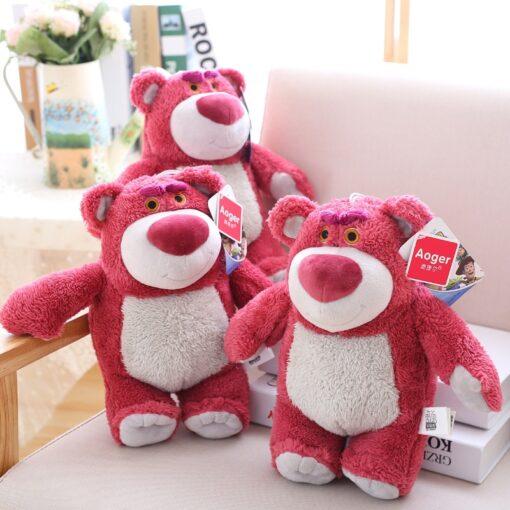 Disney Original Toy Story Lotso Strawberry Bear Stuffed Bear Super Soft Toys For Kids With Strawberry 2