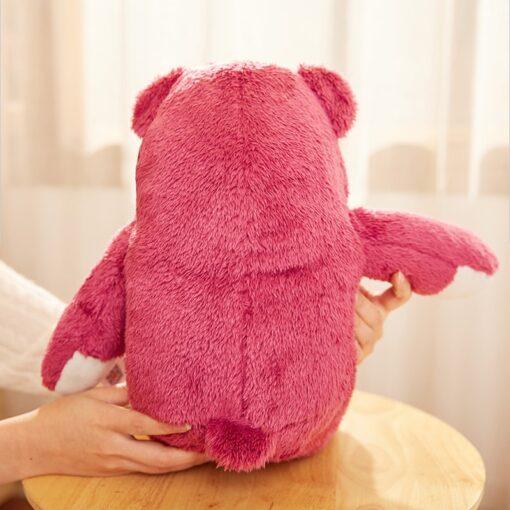 Disney Original Toy Story Lotso Strawberry Bear Stuffed Bear Super Soft Toys For Kids With Strawberry 5