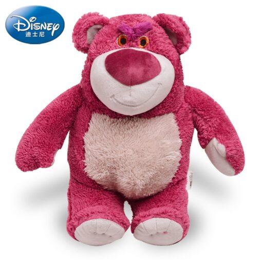 Disney Original Toy Story Lotso Strawberry Bear Stuffed Bear Super Soft Toys For Kids With Strawberry