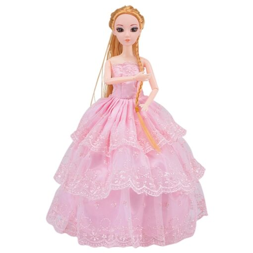 Doll With 83 Accessories DIY Dressup Toys For Girls Fashionista Ultimate Fashion Princess Dolls Set 1