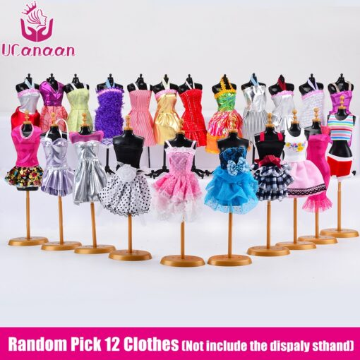 Doll With 83 Accessories DIY Dressup Toys For Girls Fashionista Ultimate Fashion Princess Dolls Set 2