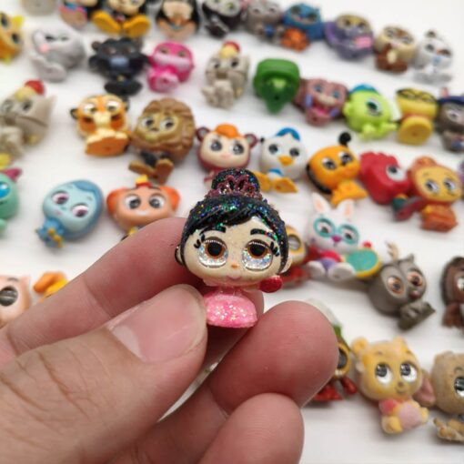 Doorables Princess Dolls Mini Model Toy Action Figures Dolls Rare Collection 4
