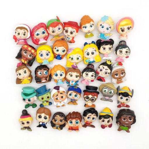 Doorables Princess Dolls Mini Model Toy Action Figures Dolls Rare Collection