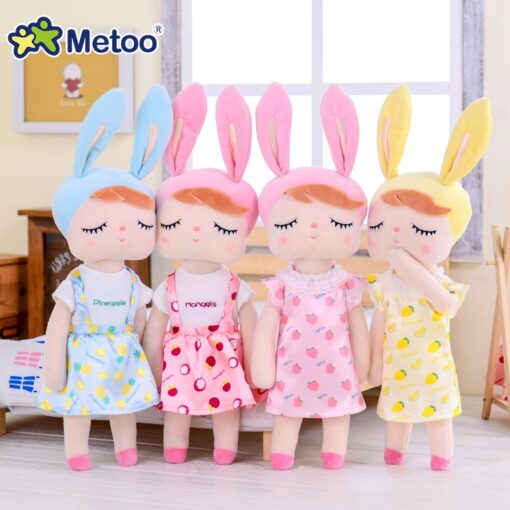 Dress Up Angela Rabbit Metoo Doll Stuffed Toys Plush Animals Kids Toys for Girls Children Boys 1