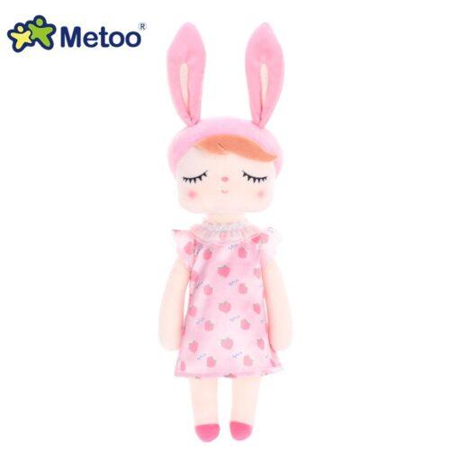 Dress Up Angela Rabbit Metoo Doll Stuffed Toys Plush Animals Kids Toys for Girls Children Boys 5