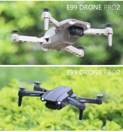 Drone E99 Pro WIFI FPV Mini RC Drone 4K HD Aerial Camera Folding Quadcopter 2