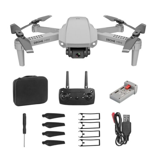 E88 Mini UAV Fixed Height 4K Aerial Photography Mini Folding Quadcopter Camera Foldable RC Quadcopter 1