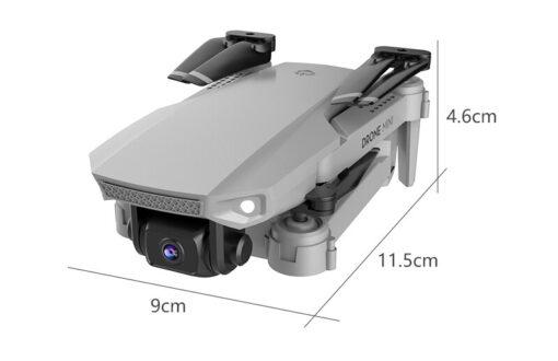 E88 Mini UAV Fixed Height 4K Aerial Photography Mini Folding Quadcopter Camera Foldable RC Quadcopter 3