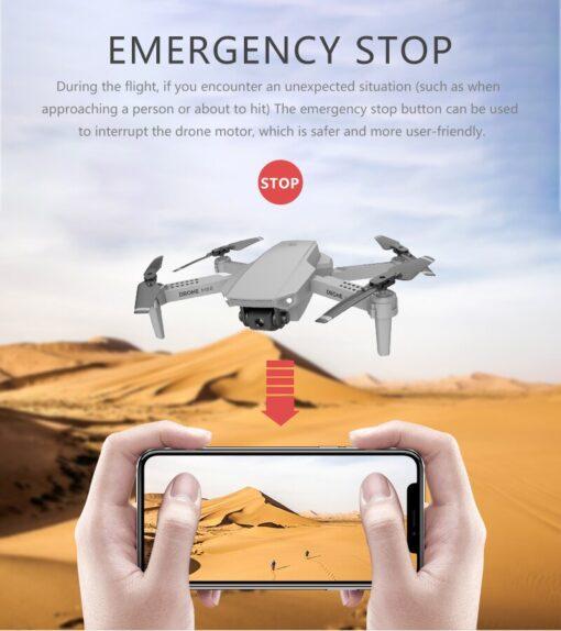 E88 Mini UAV Fixed Height 4K Aerial Photography Mini Folding Quadcopter Camera Foldable RC Quadcopter