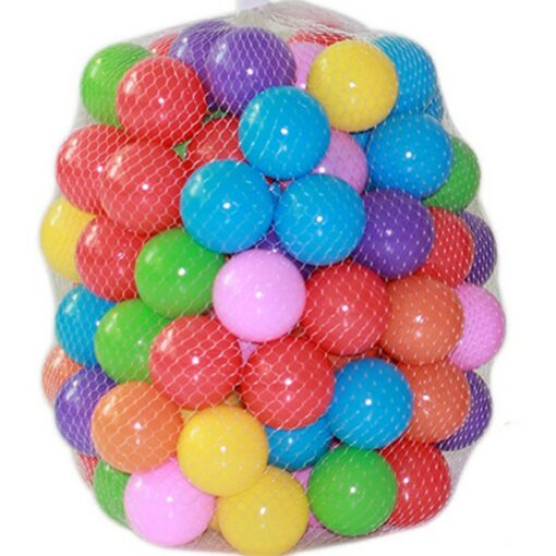 Eco Friendly Colorful Ball Pits Soft Plastic Ocean Ball Transparent Water Ocean Wave Ball Toys For 2