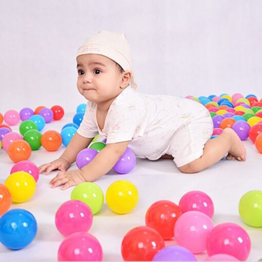 Eco Friendly Colorful Soft Water Pool Ocean Wave Ball Pits Baby Funny Toys Stress Air Ball 2