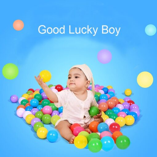 Eco Friendly Colorful Soft Water Pool Ocean Wave Ball Pits Baby Funny Toys Stress Air Ball 3