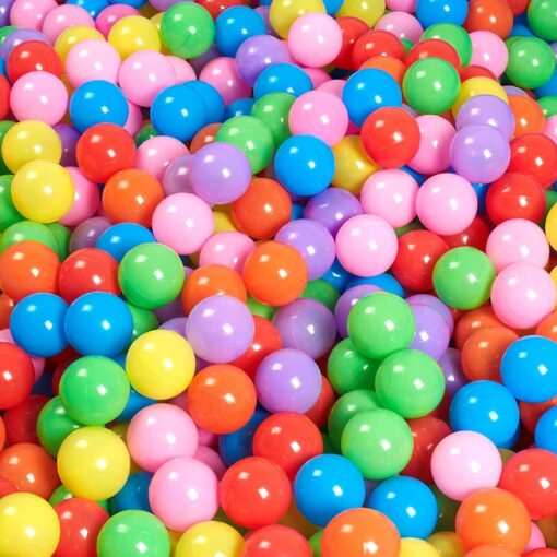 Eco Friendly Colorful Soft Water Pool Ocean Wave Ball Pits Baby Funny Toys Stress Air Ball 4